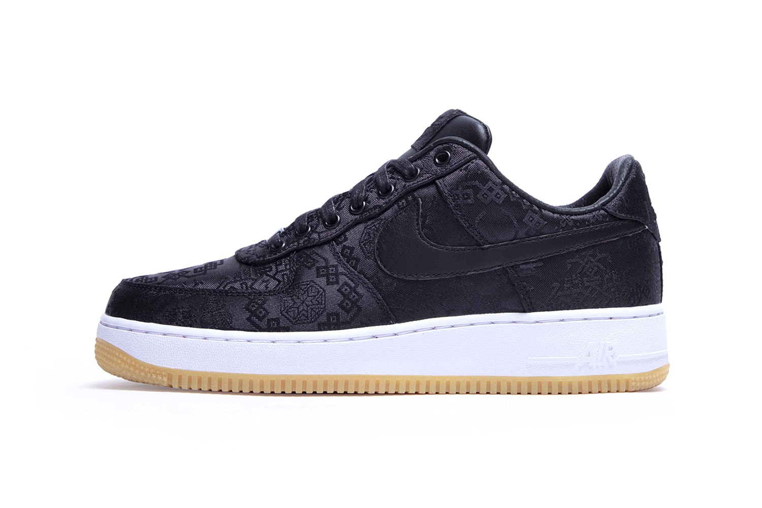 fragment design CLOT Nike Air Force 1 Black Silk Official Look black red release info date Shibuya Parco POP by Jun Buy