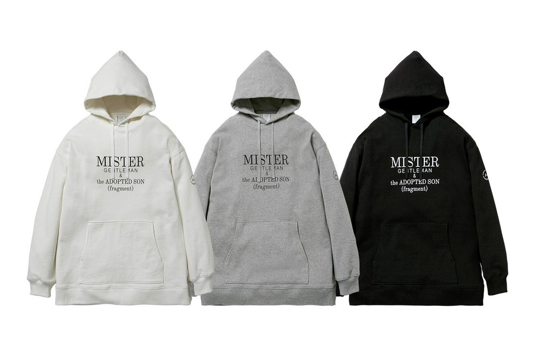 MISTERGENTLEMAN & the ADOPTED SON (fragment) capsule collaboration fall winter 2019 collection release date november 22 drop buy fw19