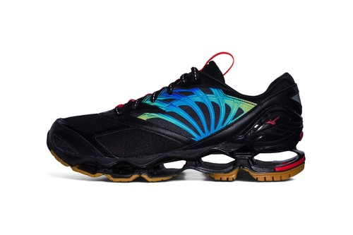 FUTUR and Mizuno Reunite for Collaborative Wave Prophecy Sneakers and Apparel