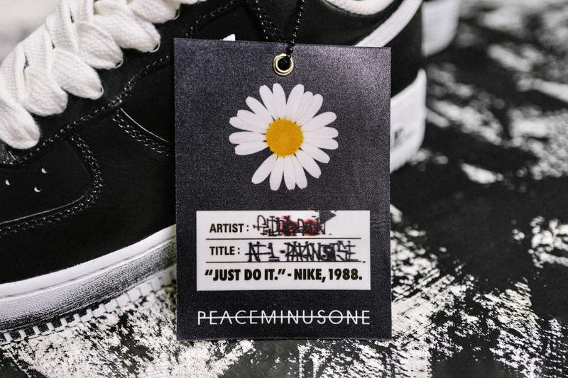 G-Dragon PEACEMINUSONE Nike Air Force 1 Para-Noise Closer Look Big Bang Kpop sneakers kicks footwear