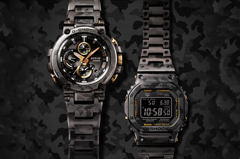 g shock casio metal camouflage print camo limited edition watches accessories timepieces GMWB5000 MT-G price details info drop date release