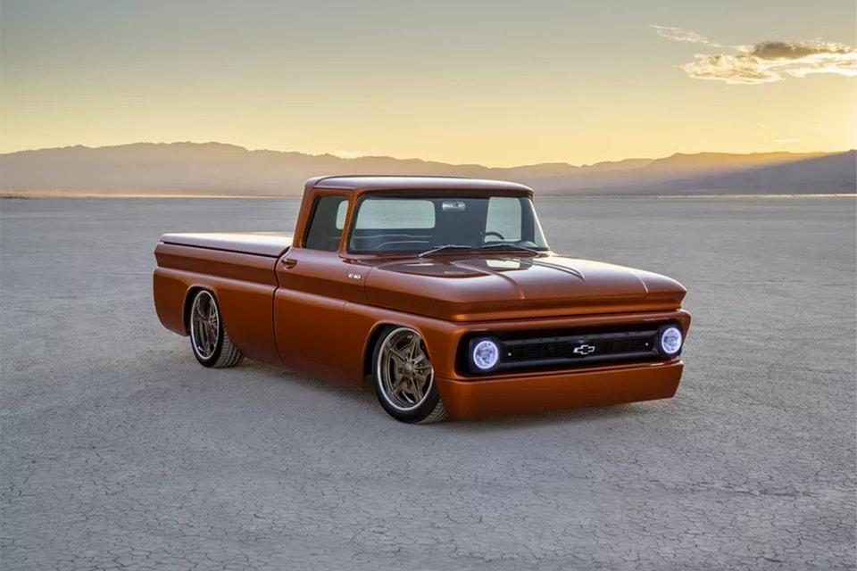 GM Converts a 1960s Pickup Into a Hot Rod EV