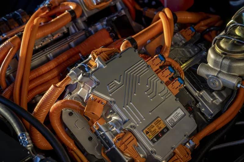 GM general motors 1960s e 10 EV hot rod SEMA Specialty Equipment Market Association 2019 show chevrolet bolt electric vehicle