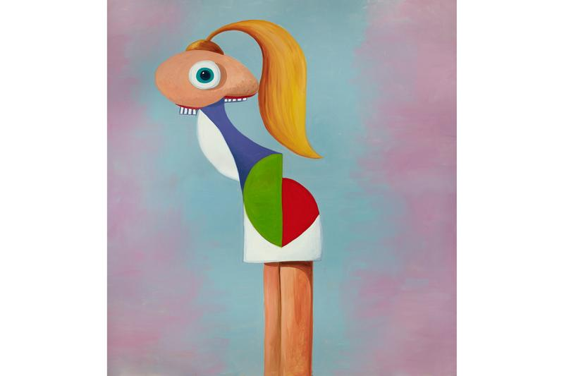 george condo paintings and works on paper skarstedt gallery new york city
