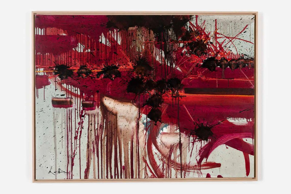 Georges Mathieu's Vehement Abstract Paintings to Take Over Perrotin Hong Kong