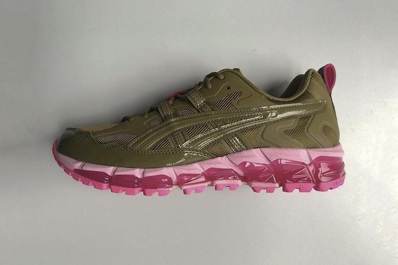 GmbH ASICS GEL-Kayano 5 360 Olive Pink Teaser Second Collaboration serhat isik Release Info Date