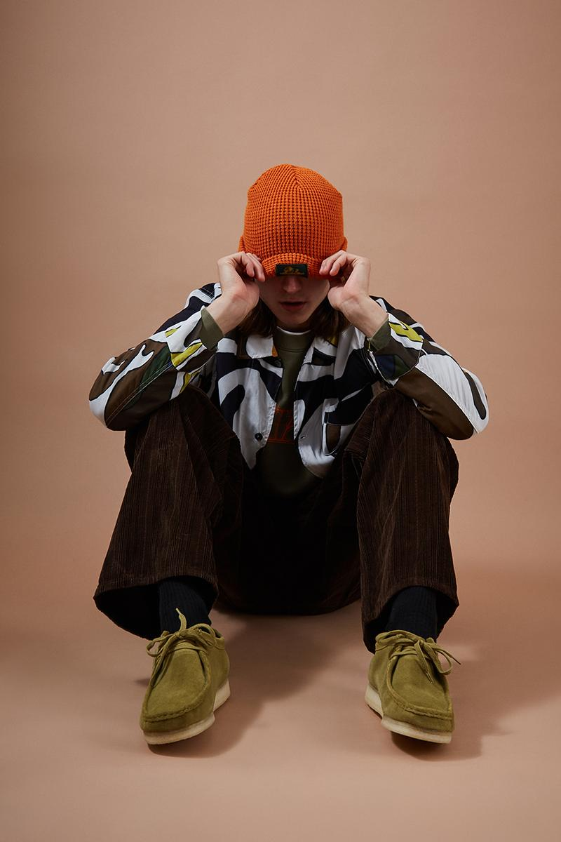 "Goodhood ""The New Tone"" Editorial Clarks Originals Wallabees Soulland Toga Virilis Stand Alone Facetasm Needles Aimé Leon Dore Aries Fall Winter 2019 FW19 Lookbook London Shop Fashion Menswear Womenswear Unizex"