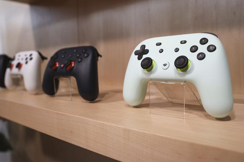 google stadia launch titles games announcement video game console gaming streaming