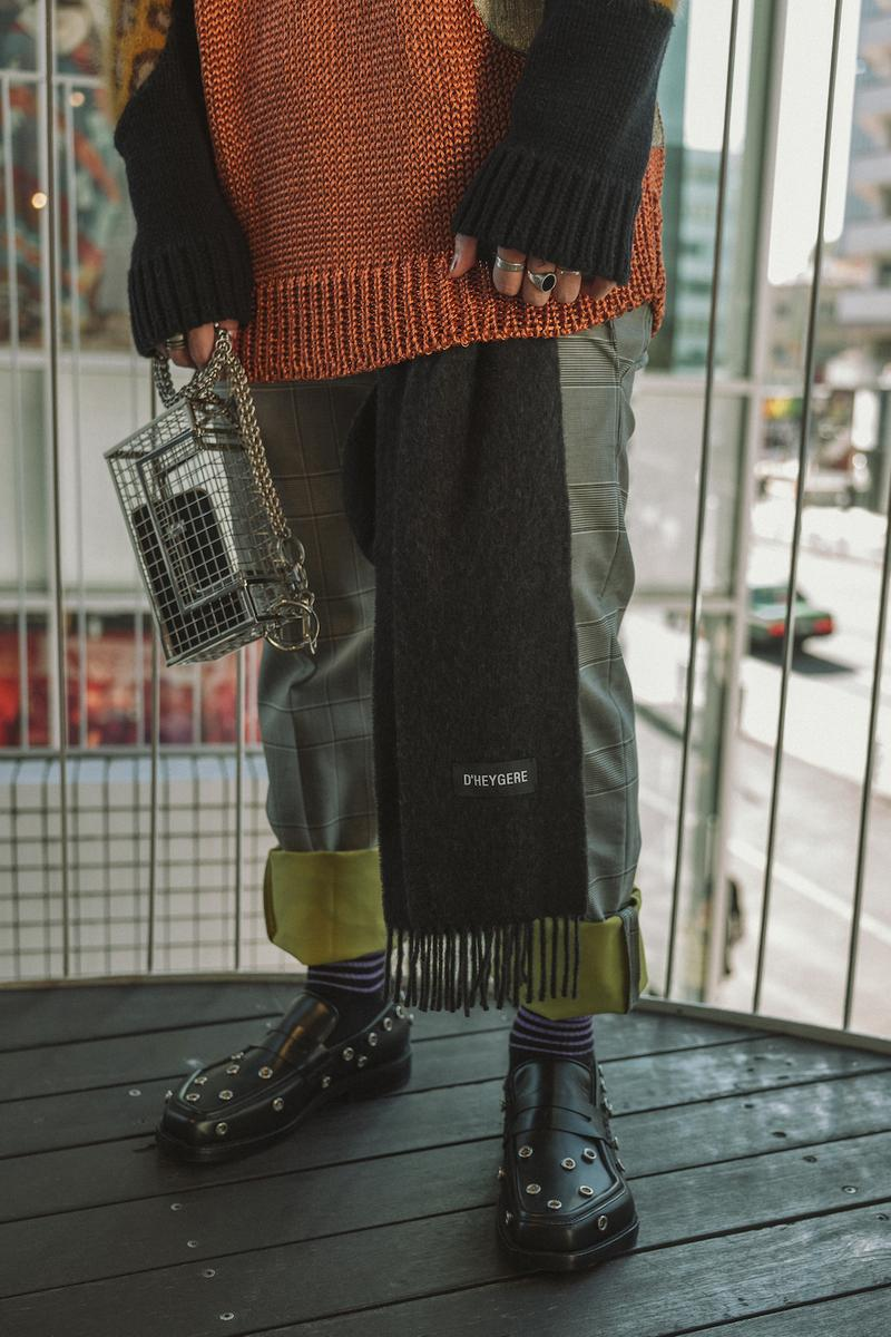 GR8 New Wave Tokyo Fashion Vibrant Fall Winter 2019 Editorial asics raf simons salomon Paria Farzaneh KANGHYUK GmbH a cold wall heron preston street style layering Big Love Records