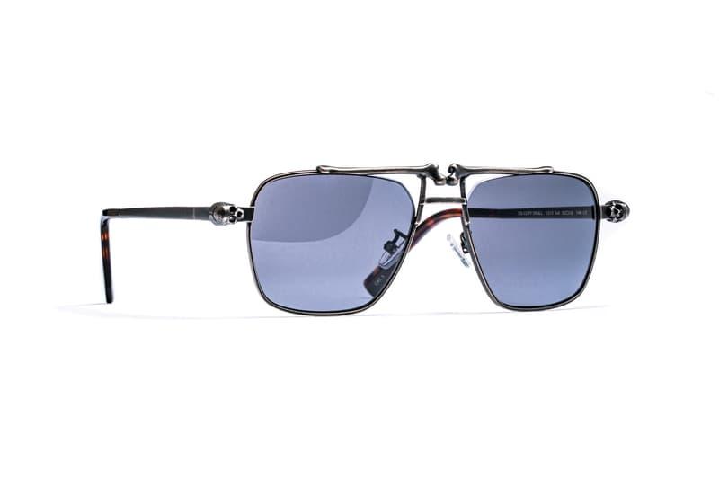 Hideo Kojima x J.F. Rey 'Death Stranding' Sunglasses jean-francois rey character optics sam bridges porter cliff skull heartman deadman gun metal matte black Sony Interactive Entertainment LLC