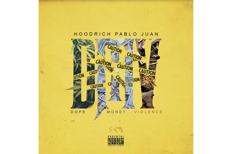 Hoodrich Pablo Juan 'DMV' Album Stream dope money violence hip-hop rap trap atlanta Mony Pwr Rspt / 1017 Eskimo / Alamo Records Gucci Mane Wiz Khalifa spotify apple music listen now