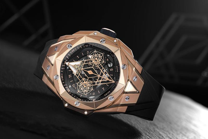 Hublot Unveils Its Big Bang Collaboration With Sang Bleu Watches Luxury Tattoo Big Bang Sang Bleu II Geometry