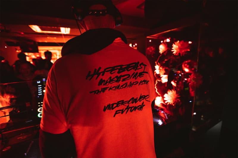 HYPEBEAST Magazine Launch Party Tokyo UNDERCOVER dover street market Ginza dsmg Futura Easy Otabor Rola Verdy Jon Gray Ghetto Gastro Yoshirotten SKOLOCT Poggy Shinji Nanzuka Yuta Hosokawa Readymade Kubo GR8 Shinpei Ueno ANARCHY 5lack