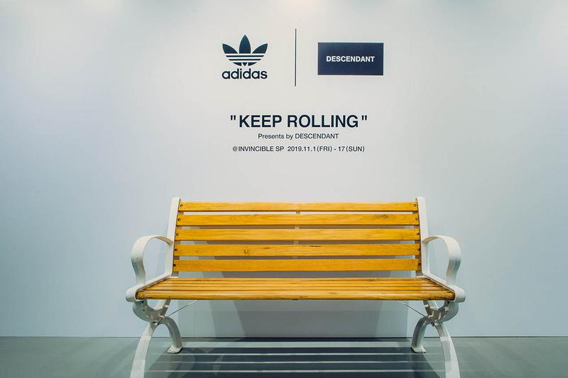 invincible special project descendant adidas originals pop up store apparel capsule collection footwear sneakers