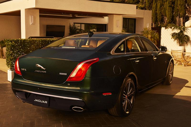 Jaguar XJ Collection Special Edition luxury sedan discontinue production limited us market automotive car supercharged