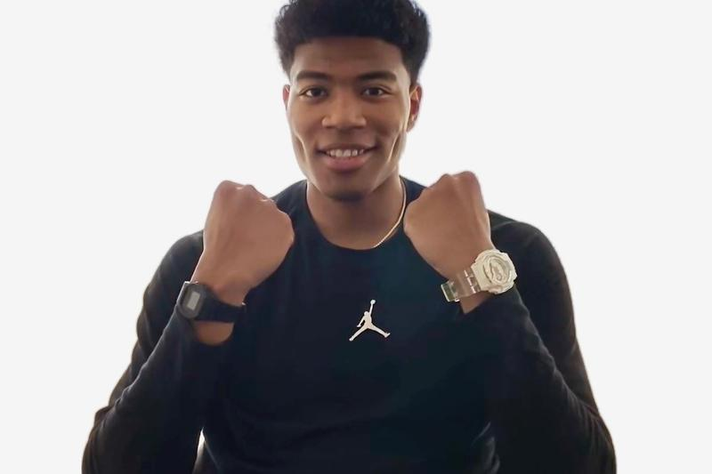Japanese NBA Player Rui Hachimura Signs Deal With G SHOCK watches star basketball washington wizards japanese national team NCAA Division I Meisei High School endorsement sponsorship