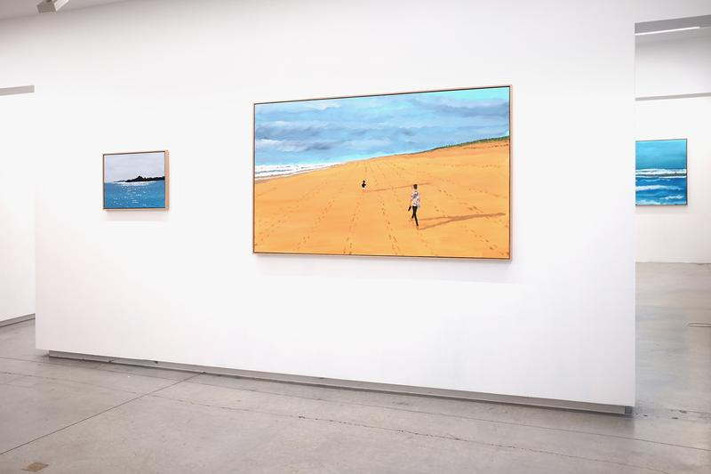 "Jean Jullien ""PETRICHOR"" Exhibition ALICE Gallery Brussels Paintings"