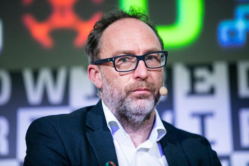 Wikipedia Jimmy Wales Social Network