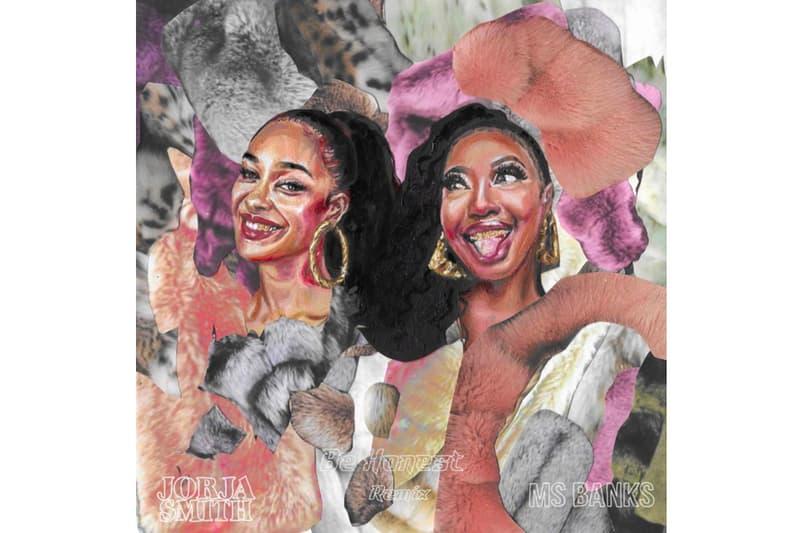 "Jorja Smith ""Be Honest"" Ft. Ms Banks (Cadenza & AoD Remix) single stream r&b UK garage flamenco vibe listen now spotify apple music FAMM"