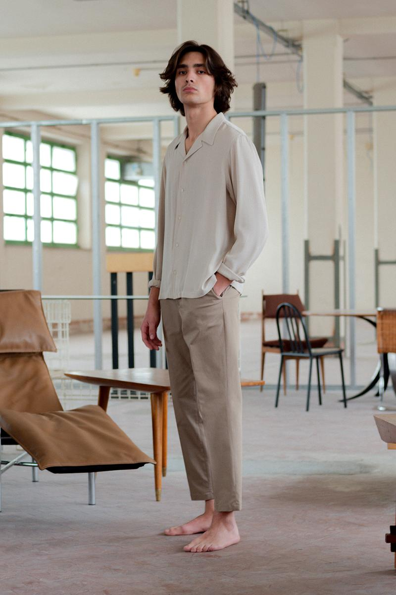joyce international fall winter 2019 collection lookbook release information buy cop purchase sustainable menswear minimalist understated viscose linen wool