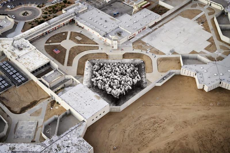 JR Tehachapi California Correctional Institution Mural