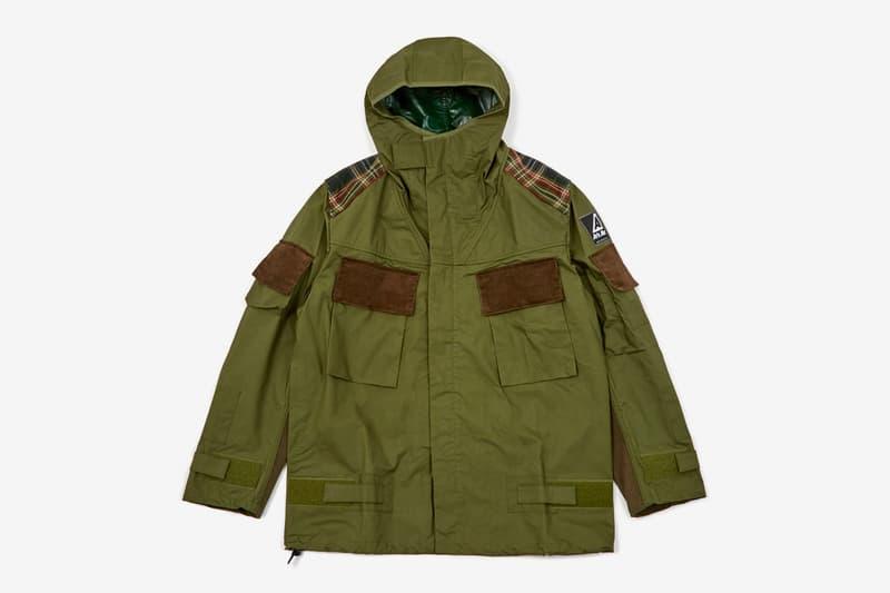Junya Watanabe MAN x Air Ark Canvas Check Coat jackets military jackets
