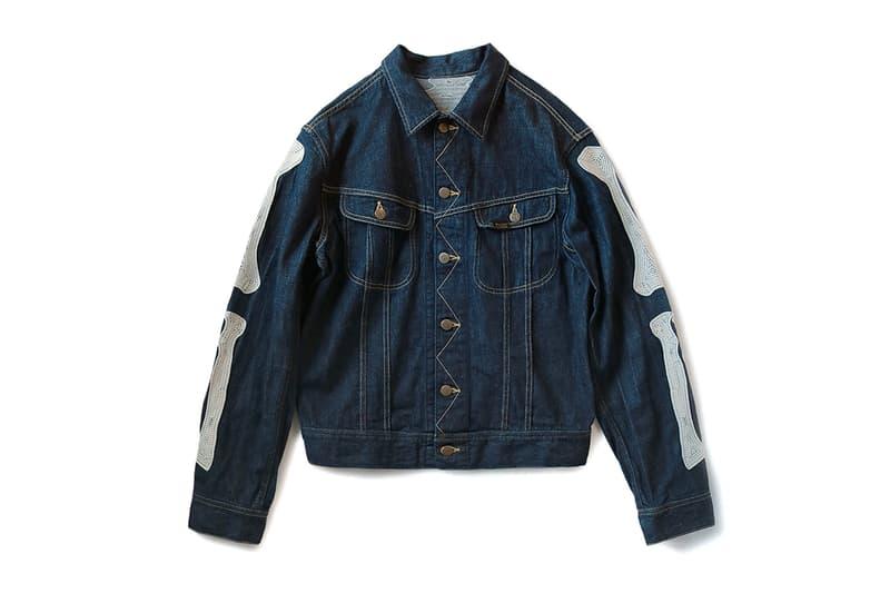 KAPITAL 11 5oz Mexican Tuxedo Denim Jacket indigo raw unwashed westerner japanese brands bones jeans outerwear fall winter 2019 embroidery festivals cotton kountry brass