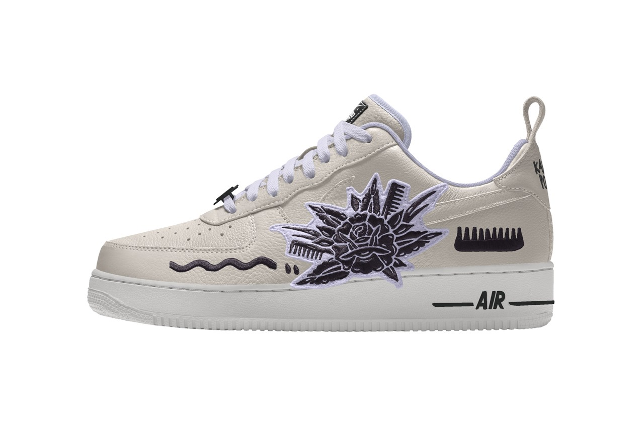 karabo poppy nike air force 1 low by you id collection south africa release date info photos price