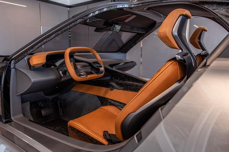 Karma SC2 Concept Car Packs 10,500 lb-ft of Wheel Torque 1100 BHP Electric Vehicle 0-60 MPH 1.9 Seconds EV Fisker 350 mile Range Tesla Roadster Competitor 2019 LA Auto Show