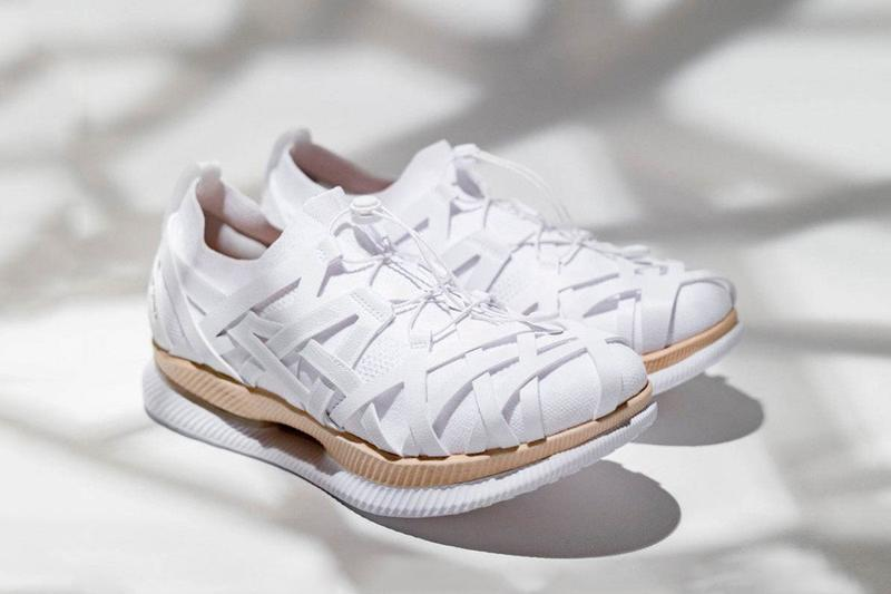 kengo kuma asics Metaride AMU woven Yatara Knitting white wood release date info photos price colorway architect