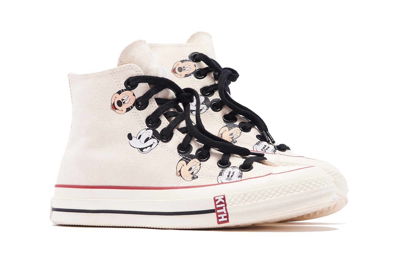 Kith x Converse x Disney Mickey Mouse