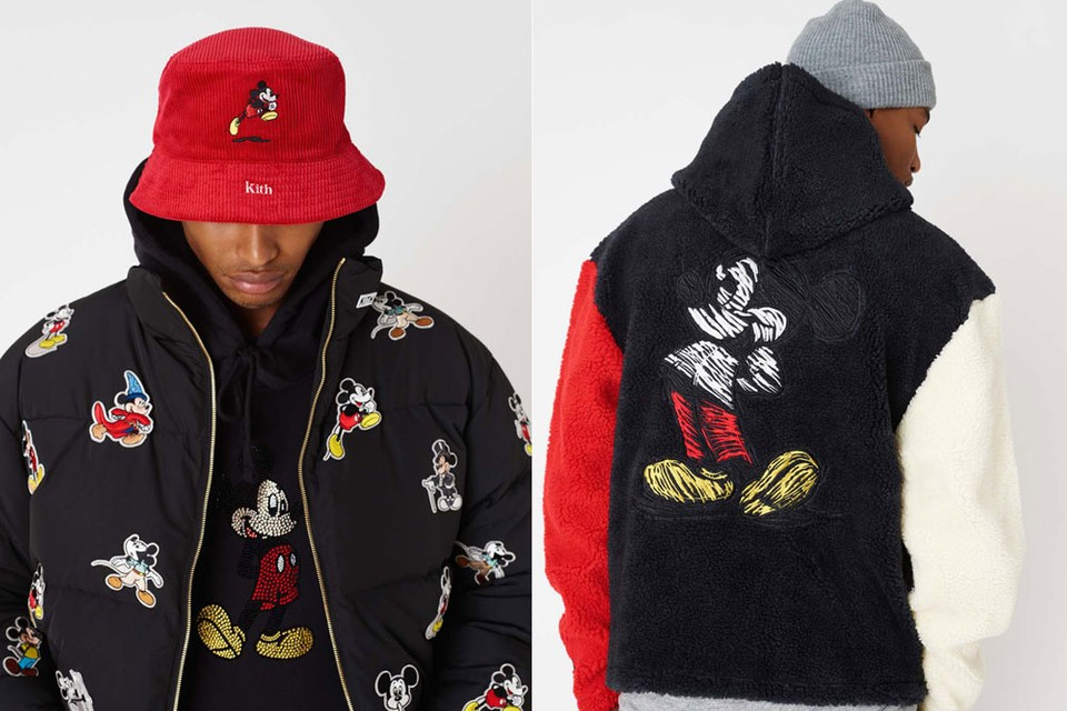 Kith Breaks Down Eight Decades of Mickey Mouse in New Disney Collaboration