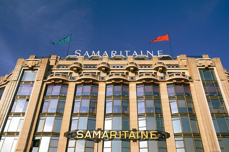 LVMH Bernard Arnault La Samaritaine department store Renovation 1 billion usd update france grands magasins retail space dfs travel retailer april 2020 open shopping space louvre