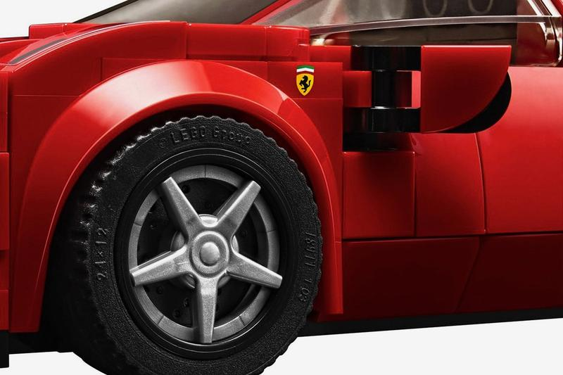 LEGO Speed Champions Ferrari F8 Tributo Kit Release Info Date Red Buy Red