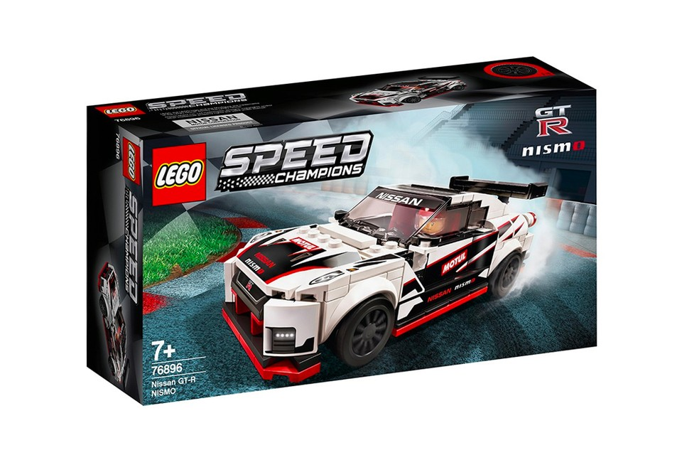 LEGO Speed Champions Immortalizes the Nissan GT-R Nismo