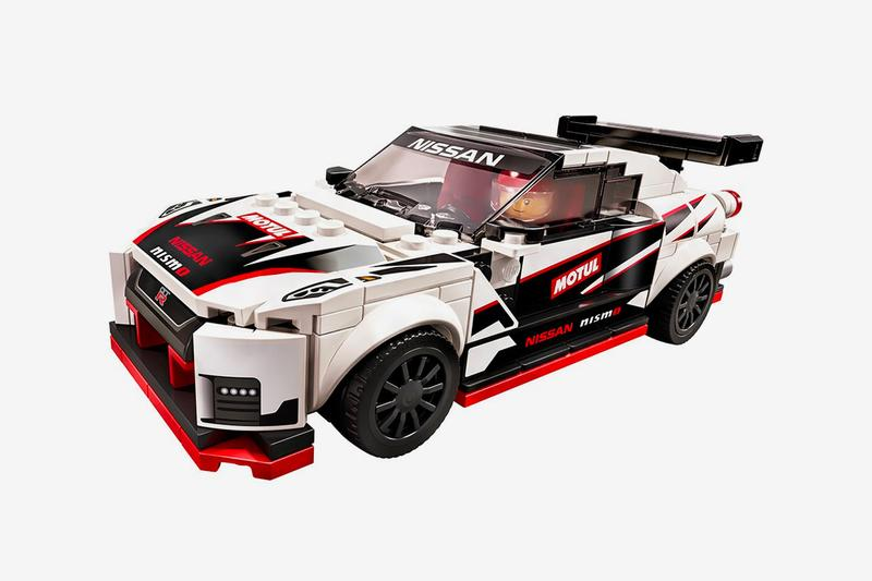 LEGO Speed Champions Nissan GT-R Nismo Kit Release Info Date Buy White