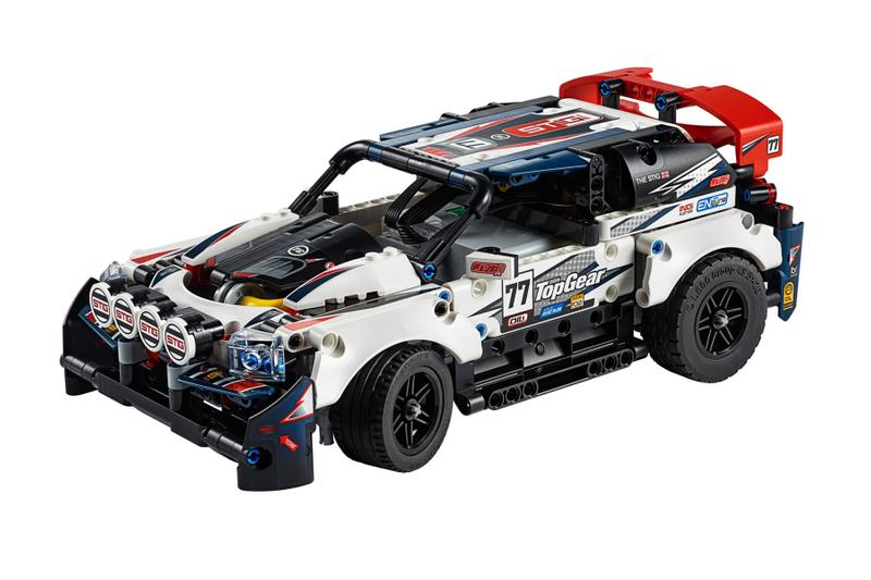 LEGO Technic Top Gear GT Rally Car Release building automotive remote control phone control BBC the Stig