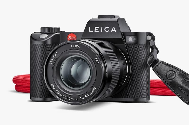 Leica Full-Frame SL2 Mirrorless Camera Info German Film M-mount Leitz full-frame CMOS Panasonic Lumix S1R,