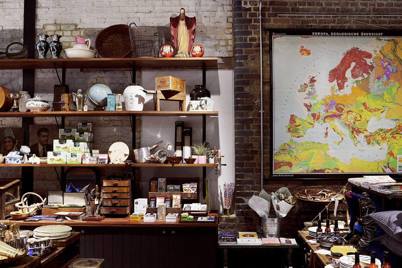 A Guide to London's Best Homeware and Design Stores Map North South East West Central City Capital Accessories Decor Art Furniture Goodhood Life Store Vitsoe Decorum Labour and Wait Monologue Earl of East Kitchen Provisions Tom Dixon The Conran Shop SCP Knoll Vitra The Peanut Vendor