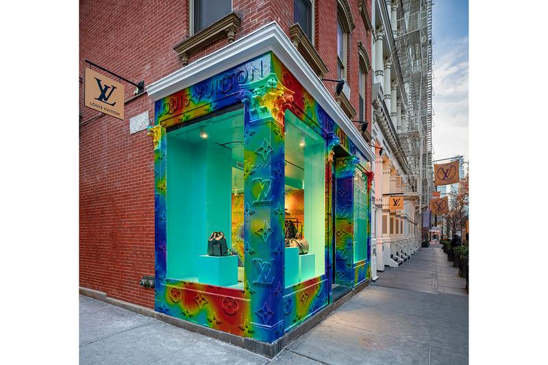 Louis Vuitton 2054 Collection Soho Residency pop-up store virgil abloh december 6 2019