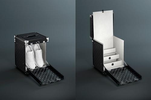 Louis Vuitton Debuts New Single Pair Sneaker Box