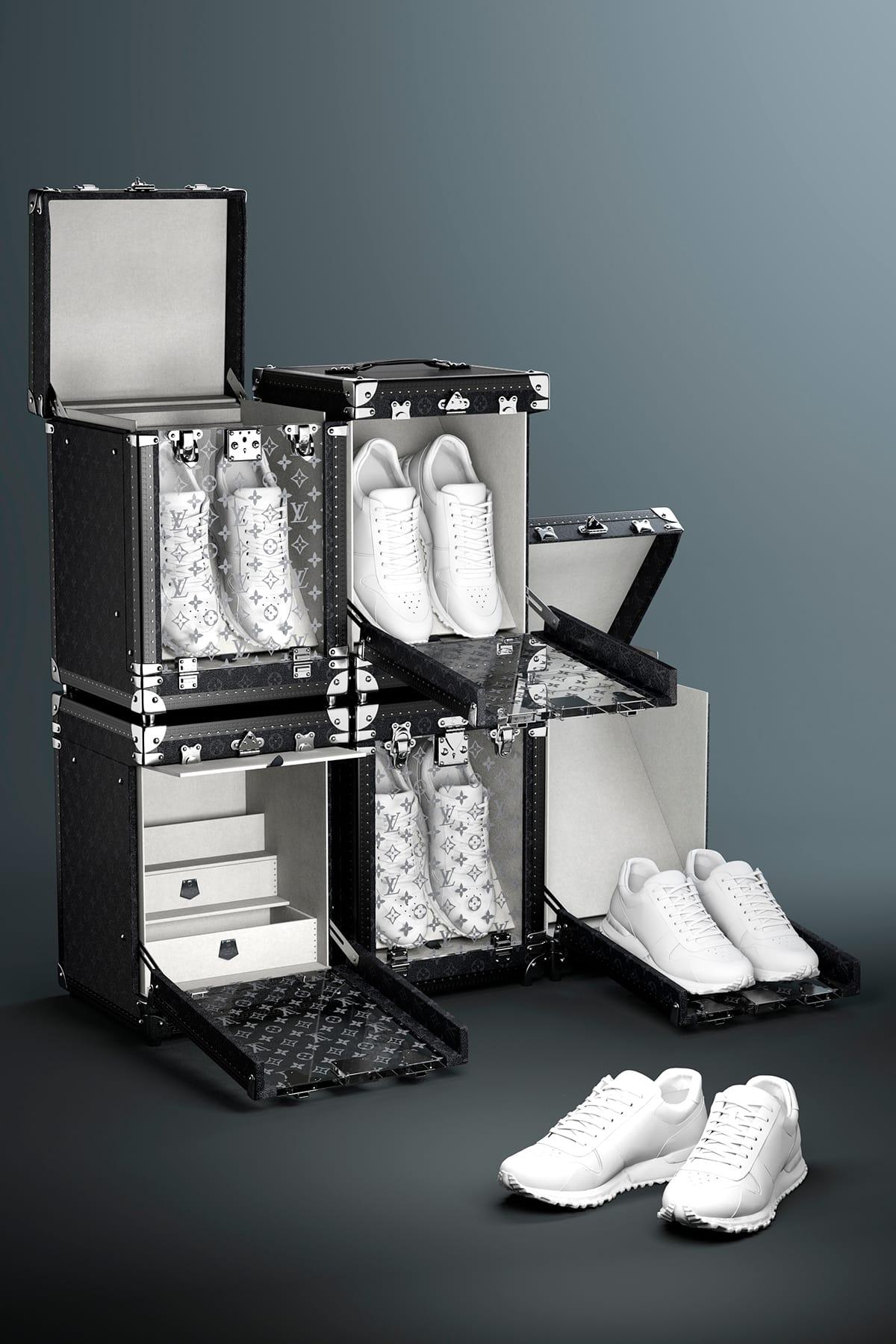 Louis Vuitton Black Single Sneaker Box