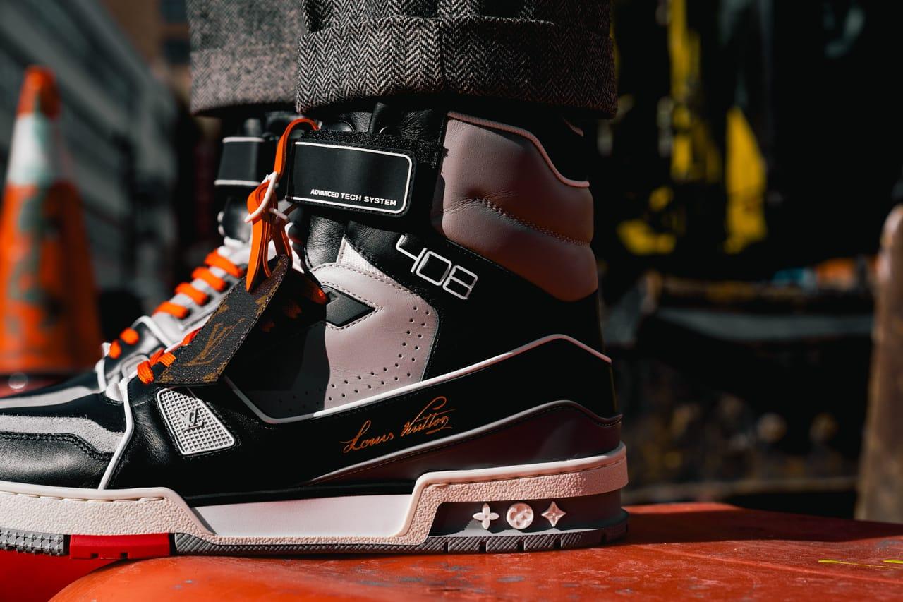 lv trainer sneaker boot price