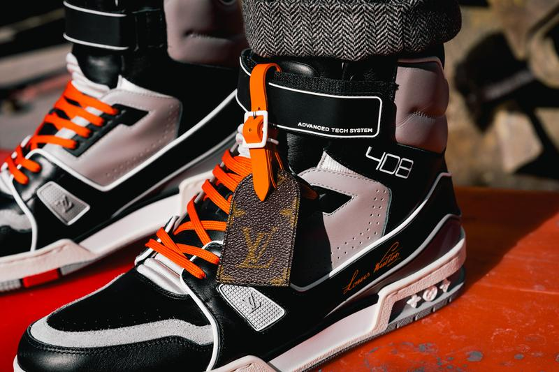 louis vuitton lv 408 trainer hi high virgil abloh new york chicago exclusive release date info photos price