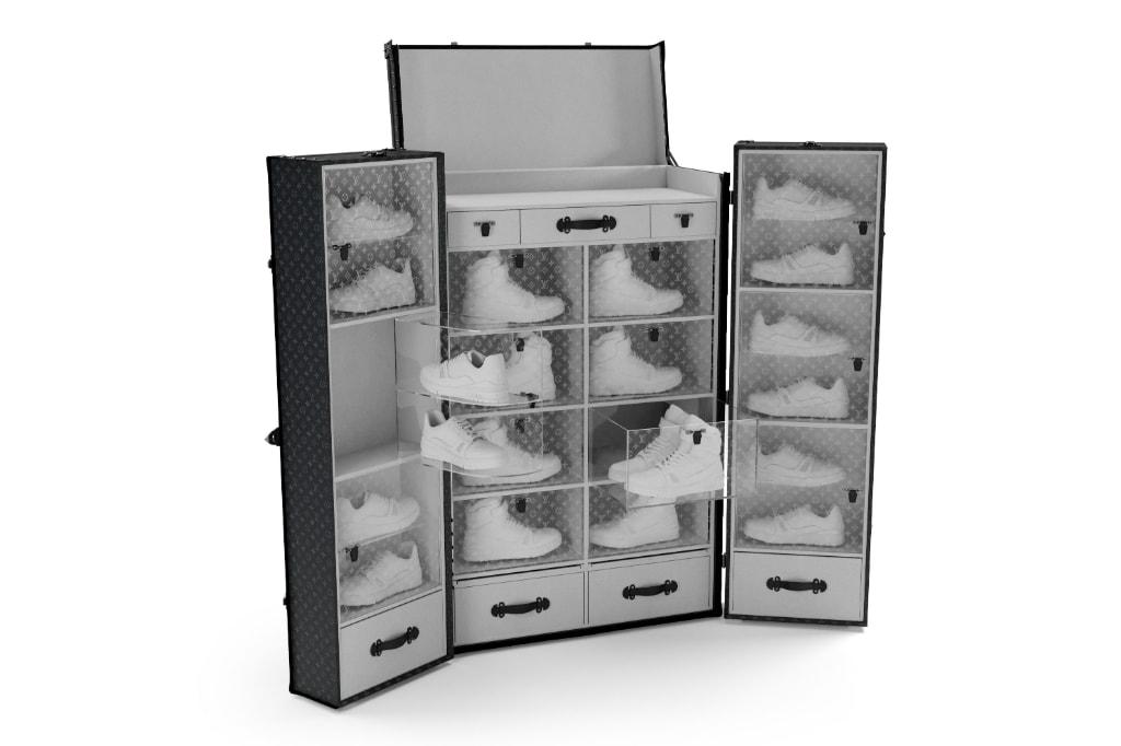 Louis Vuitton Sneaker Trunk   HYPEBEAST