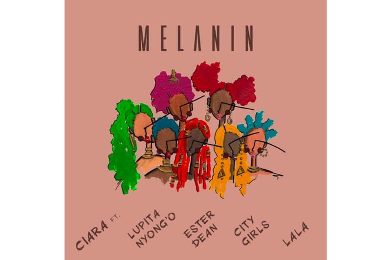 Lupita Nyong'o City Girls Ciara Melanin single Stream spotify apple music listen now hip-hop rap R&B ester dean lala troublemaker