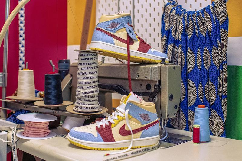 Maison Château Rouge x Air Jordan 1 Mid Sneaker Release Where to buy Price 2019