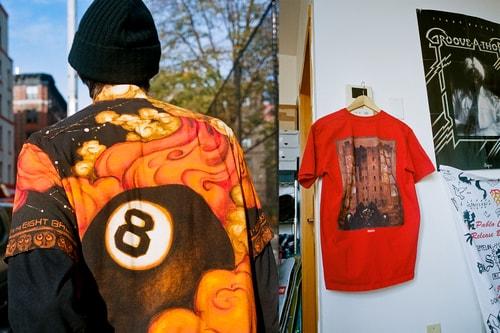 Martin Wong x Supreme FW19 Collection