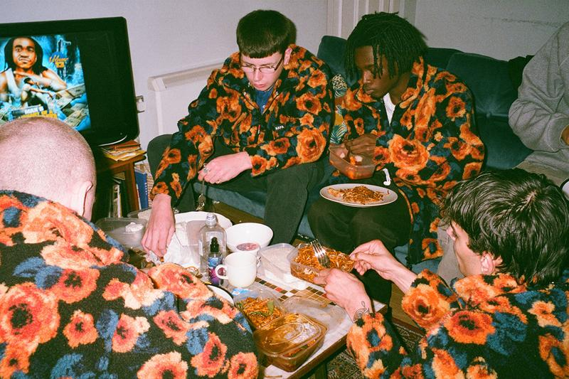 napa napapijri martine rose fall winter 2019 floral fleece drake asap rocky playboi carti buy cop purchase LN-CC exclusive release information london party event exhibition Roxy Lee
