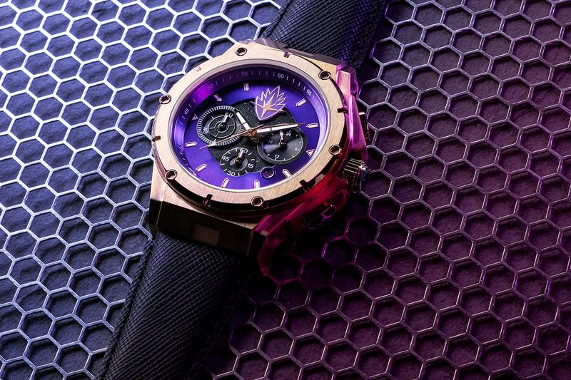 Marvel x Meister Watches Capsule Collection Release Black Panther Spider-Man Captain America Guardians of the Galaxy Hulk First Look Limited Edition 'Avengers: Endgame'